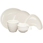 Homer Laughlin Flipside Ivory (American White) China Dinnerware