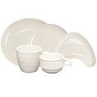 Homer Laughlin Flipside Ivory (American White) China Dinnerware