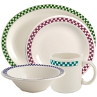 Homer Laughlin by Steelite International Checkers China Dinnerware