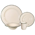 Homer Laughlin Lyrica Lydia Green China Dinnerware