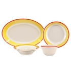 Homer Laughlin Martiques Rolled Edge China Dinnerware