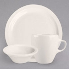 Homer Laughlin Narrow Rim Ivory China Dinnerware