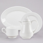 Homer Laughlin Pristine Bright White China Dinnerware