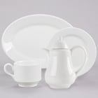 Homer Laughlin by Steelite International Pristine Ameriwhite Bright White China Dinnerware