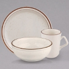 Homer Laughlin by Steelite International Sand Dunes Speckled China Dinnerware