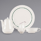 Homer Laughlin Seville Ivory (American White) China Dinnerware