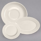 Homer Laughlin Rolled Edge Ivory China Dinnerware