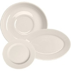 Homer Laughlin Rolled Edge Ivory (American White) China Dinnerware