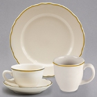 Homer Laughlin Styleline Gold China Dinnerware