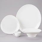 Homer Laughlin Alexa Bright White China Dinnerware