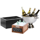 Ice Displays and Beverage Housings
