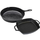 Elite Global Solutions Illogical Faux Cast Iron Melamine Servingware