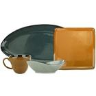 International Tableware Luna Colorful Porcelain Dinnerware