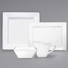 International Tableware Elite Bright White Porcelain Dinnerware