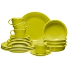 Homer Laughlin Lemongrass Fiesta Dinnerware