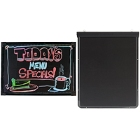 Light-Up Write-On Menu Boards