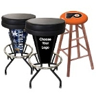 Logo and Sports Bar Stools and Chairs