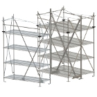 Metro Super Erecta Seismic Top-Track Shelving Units