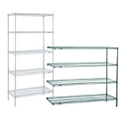 Metro Super Erecta Stationary Wire Shelving Units