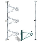 Metro Super Erecta Wall-Mount Shelving Brackets and Accessories