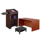 Office Desks, Carts, and Stands