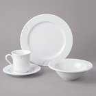 Oneida Briana Bright White Porcelain Dinnerware
