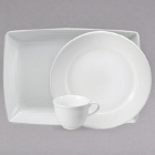 Sant'Andrea Botticelli Bright White Porcelain Dinnerware by Oneida