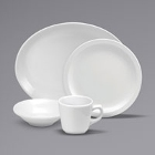 Buffalo Cream White Ware Porcelain Dinnerware by Oneida