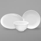 Sant'Andrea Cato White Bone China Dinnerware by Oneida