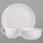 Oneida Classic Coupe White Porcelain Dinnerware