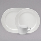 Oneida Espree Cream White China Dinnerware