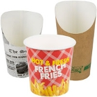 Paper French Fry Bags and Cups