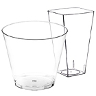 Plastic Cups, Hard Clear