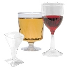 Disposable Plastic Wine Glasses