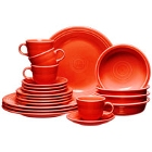 Homer Laughlin Poppy Fiesta China Dinnerware