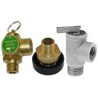 Pressure and Temperature Relief Valves