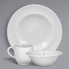 RAK Porcelain Bright White Charm Porcelain Dinnerware