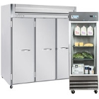 Reach-In Refrigerators and Freezers