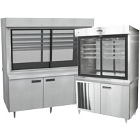 Refrigerated Display Cases with Storage Bases