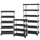 Rubbermaid Storage Shelves and Rolling Shelf Systems