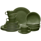 Homer Laughlin Sage Fiesta Dinnerware