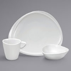 Sant'Andrea Mood Bright White Porcelain Dinnerware by Oneida