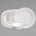 Sant'Andrea Chord White Porcelain Dinnerware by Oneida