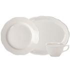 Scalloped Edge Ivory (American White) China Dinnerware