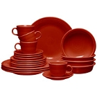 Homer Laughlin Scarlet Fiesta China Dinnerware
