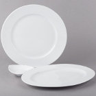 Schonwald Fine Dining White Porcelain Dinnerware