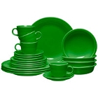 Homer Laughlin Shamrock Fiesta Dinnerware