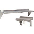 Solid Wall-Mount Shelving
