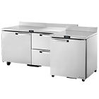 Spec Line / Institutional / Heavy-Duty Worktop Refrigerators