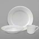 Sant'Andrea Royale Bright White Porcelain Dinnerware by Oneida